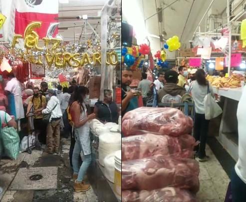 El mercado de la Merced está de fiesta en su 64 aniversario