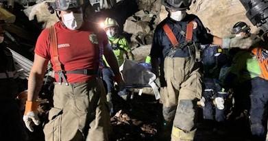 Localizan los dos cuerpos de Paola y Dylan y con esto se terminan los trabajos de rescate