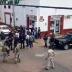 Balacera a metros de la cabecera municipal de Metepec deja un muerto y 2 lesionados